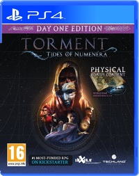 Torment: Tides of Numenera (PS4) - Cover