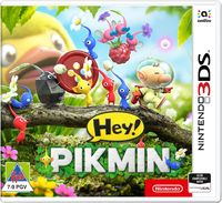 Hey! PIKMIN (3DS) - Cover