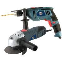 Fragram - 500w Impact Drill and 650w Angle Grinder Combo