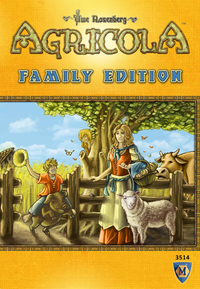 Agricola: Family Edition (Board Game) - Cover