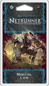 Android Netrunner LCG - Martial Law Data Pack (Card Game) - Cover
