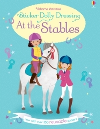 Sticker Dolly Dressing At the Stables - Lucy Bowman (Paperback) - Cover