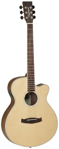 Tanglewood Discovery Super Folk Acoustic Guitar (Open Pore Natural)