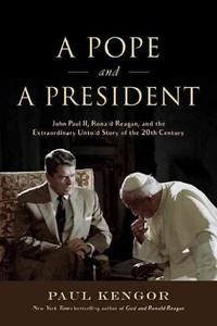 A Pope and a President - Paul Kengor (Hardcover) - Cover