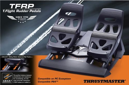 Thrustmaster Add On - TFRP T  Flight Rudder Pedals