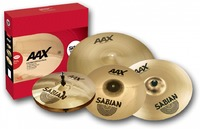 Sabian AAX Praise and Worship Performace Cymbal Pack (11,13,16,21,18) - Cover