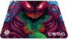 Steelseries Gaming Surface - QcK+ CS:GO Hyper Beast Edition (PC)