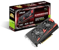 ASUS Expedition GeForce GTX 1050 Ti OC edition eSports Gaming 4GB GDDR5 Graphics Card - Cover