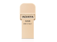 ADATA - AI920 32GB USB 3.0 (3.1 Gen 1) Type-A Gold USB flash drive