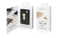 ADATA - AI920 64GB USB 3.0 (3.1 Gen 1) Type-A Gold USB flash drive