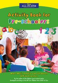New All-In-One Activity Book for Pre-schoolers - Mart Meij (Paperback) - Cover