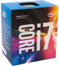 Intel Core i7-7700k 4.20GHz 8MB Cache - Socket 1151 Processor (Kaby Lake) - Cover