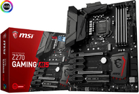 MSI - Z270 Gaming M5 LGA 1151 Socket ATX Motherboard (Supports 6th & 7th Gen Intel Processors) - Cover