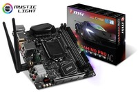MSI Z270i Gaming Pro Carbon AC LGA 1151 Socket Mini-ITX Motherboard (Supports 6th & 7th Gen Intel Processors) - Cover