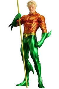 DC Comics Artfx+ Series Aquaman (New 52) Statue 19cm - Cover