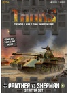 Tanks: Panther Vs Sherman - Starter Set (Miniatures)