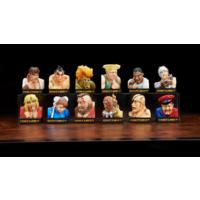 """Street Fighter II"" Trading Figure Loser Face Collection Vol.1 (Trading Figures)"