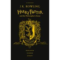 Harry Potter and the Philosopher's Stone - Hufflepuff Edition - J. K. Rowling (Hardcover)