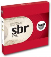 Sabian SBR 2-Pack Cymbal Set (14,18) - Cover