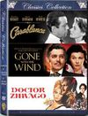 Classics Boxset (Casablanca / Gone With the Wind / Dr Zhivago) (DVD)