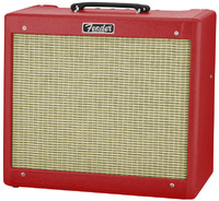 Fender Blues Junior Limited Edition Tube Guitar Amplifier (British Red) - Cover