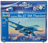 Revell - Sukhoi Su-27 SM 1/72 - Sukhoi Su-27 SM Flanker Model Set (Plastic Model Kit)