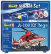 Revell - 1/72 - A-109 K2 Rega Model Set (Plastic Model Kit)