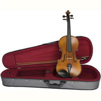 Sandner 4/4 Size Student Violin Outfit (With Case)