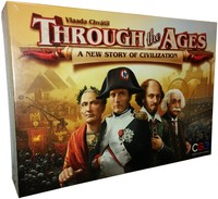 Through The Ages: A New Story of Civilization (Board Game) - Cover