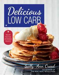 Delicious Low Carb - Sally-Ann Creed (Paperback) - Cover