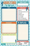 Adulting Notepad - Inc. Peter Pauper Press (Stationery)