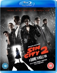 Sin City 2 - A Dame to Kill For (Blu-ray) - Cover