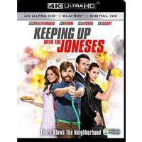 Keeping up With the Joneses (Region A - 4K Ultra HD + Blu-Ray)