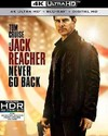 Jack Reacher: Never Go Back (Region A - 4K Ultra HD + Blu-Ray)