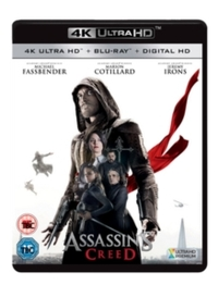 Assassin's Creed (4K Ultra HD + Blu-ray) - Cover