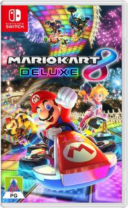 Mario Kart 8 Deluxe (Nintendo Switch) - Cover