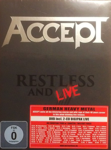 Accept - Restless & Live (CD)