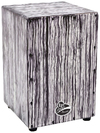 Latin Percussion Aspire Accent Cajon (White Streak)