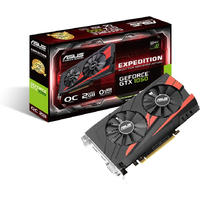 ASUS Expedition EX-GTX1050-O2G GeForce GTX 1050 2GB GDDR5 Graphics Card