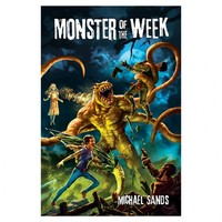 Monster of the Week (Role Playing Game) - Cover