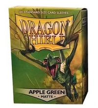 Dragon Shield - Standard Sleeves - Matte Apple Green (100 Sleeves) - Cover
