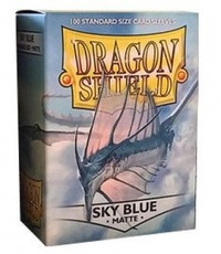 Dragon Shield - Standard Sleeves - Matte Sky Blue (100 Sleeves) - Cover