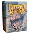 Dragon Shield - Standard Sleeves - Matte Sky Blue (100 Sleeves)