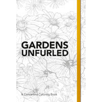 Gardens Unfurled - Concertina Colouring Book