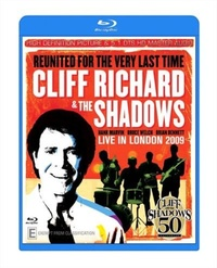 Cliff Richard & the Shadows - Live In London 2009 (Blu-ray) - Cover