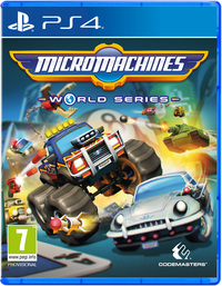 Micro Machines: World Series (PS4) - Cover