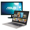 Asus Zenbook i7-6500U 4GB 256GB SSD 13.3 Touch Screen Notebook Bundle (Includes Free ASUS VS228DE 21.5 Inch FHD Monitor)