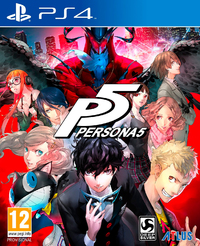 Persona 5 (PS4) - Cover