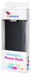 ADATA - P20000D Dual USB Powerbank - Black