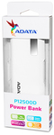 ADATA - P12500D Power Bank with precision digital display - White